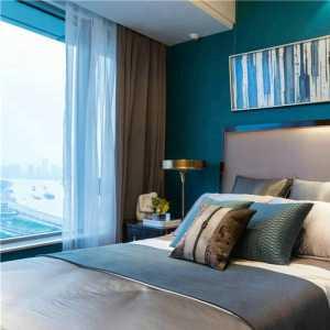 卧室现代简约大户型公寓多彩