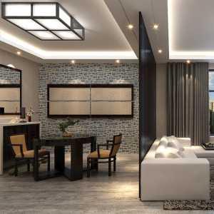 客厅纯色青蓝壁纸装修效果图片