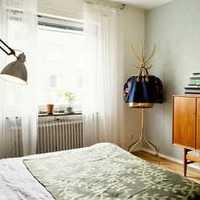 欧式吊顶吊灯三居卧室装修效果图