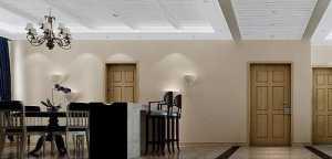 中式風格四房古典米色富裕型燈具效果圖