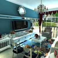 两居室简装效果图无家具
