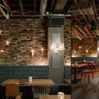 田园餐厅欧式吊灯装修效果图