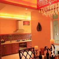 餐厅餐台实木餐桌二居装修效果图