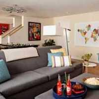 家庭客厅通道装修效果图