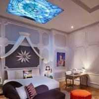 壁纸卧室家具双人卧室壁纸装修效果图