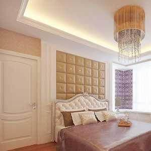 卧室浅色装修效果图
