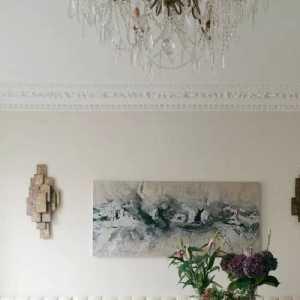 中式風格別墅衛浴木質吊頂設計效果圖