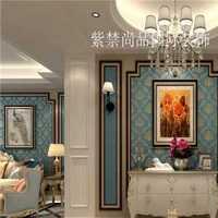 套房清新淡雅新中式装修效果图
