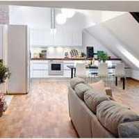 越层式房型二层200平米房型装修设计图