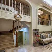 别墅客厅沙发影视墙沙发装修效果图