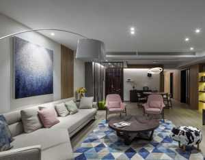 新中式四居室書房組合柜效果圖