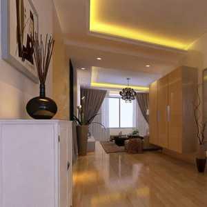 125三居室装修效果图