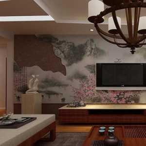 89平方二居室装修效果图