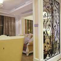 三室一厅美式梳妆台豪华装修效果图