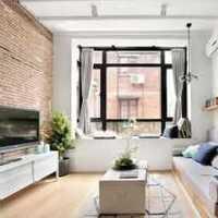 客厅美式客厅沙发组合柜装修效果图