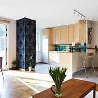 别墅木器实色150平米以上欧式时尚厨房精装房豪华型