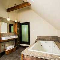 一个卫生间改两个厕所带一个淋浴房装修效果图