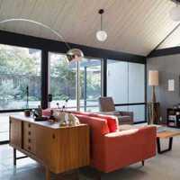现代别墅宽阔敞亮客厅装修效果图