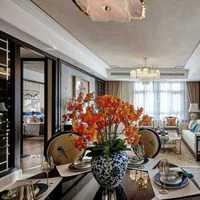 簡約風格別墅富裕型客廳燈具海外家居效果圖