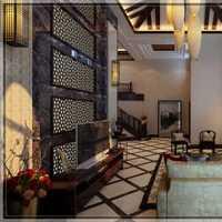 红木纹竹木纤维客厅装修效果图