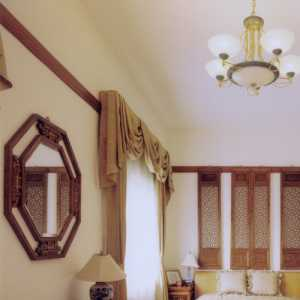 卧室木质装修效果图