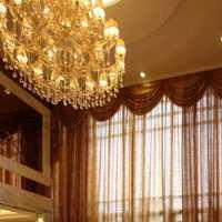 简约新房窗帘120平米装修效果图