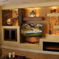 客厅二居茶几现代简约装修效果图