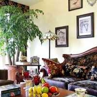 美式乡村窗帘书桌浪漫装修效果图