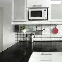开放式厨房不锈钢灶台装修效果图