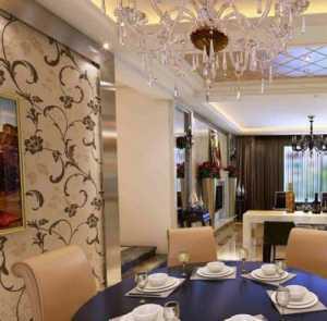 最新歐式豪華的餐廳效果圖