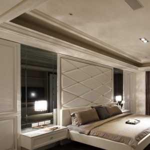 美式風格臥室三層別墅簡單實用庭院燈效果圖