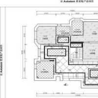 75平三室房子装修效果图