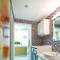 美式风格小清新一居室卧室片效果图