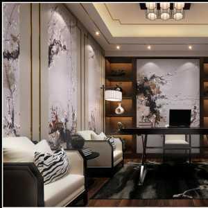大户型三室一厅现代简约15-30万120平米