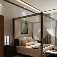 卧室卧室背景墙落地灯现代装修效果图