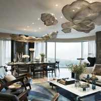 豪华现代简约美式别墅时尚装修效果图