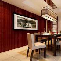 中式餐桌中式四居餐厅吧台装修效果图