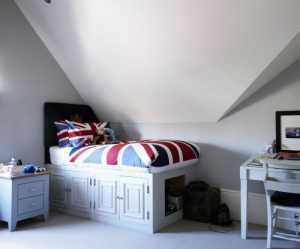 北欧风格简约室内置物架效果图