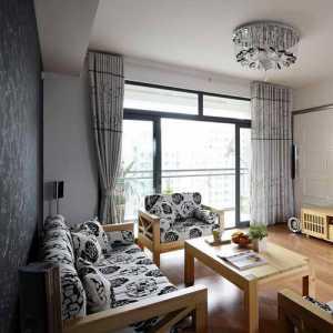 沙发花格墙装修效果图