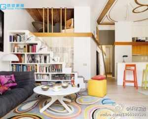 淡蓝色客厅图片