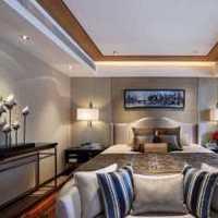 卧室背景墙卧室斗柜装修效果图