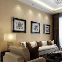 90平米三室两厅美式装修效果图