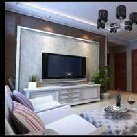 大户型中式客厅背景墙装修效果图