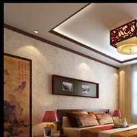 臥室背景墻,窗簾,床頭柜,床,燈具效果圖