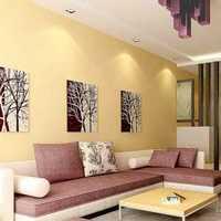 美式简约小户型客厅装修效果图