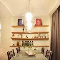 餐厅实木餐桌餐厅家具餐台装修效果图