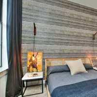 美式时尚家庭卧室装修效果图