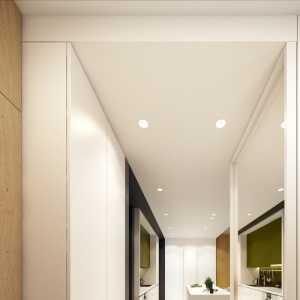 现代风格客厅红色沙发效果图