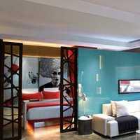地中海大户型客厅四居装修效果图