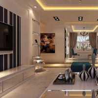 简约且时尚现代客厅装修效果图